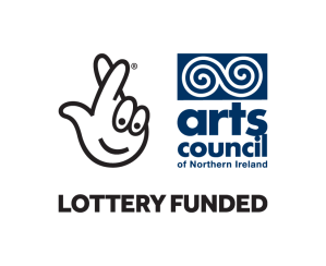 Logo of Arts Council of Northern Ireland Lottery funding
