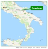 Campobasso Location Map