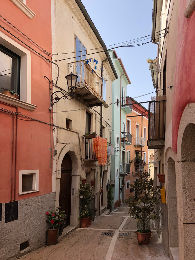 Campobasso Old Town view - daytime