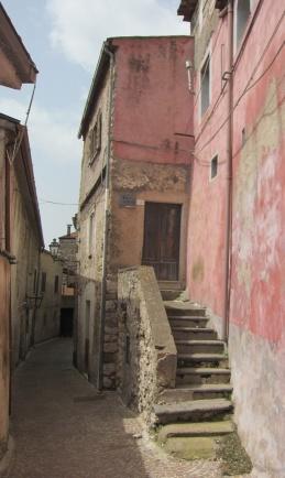 Presenzano alleyway