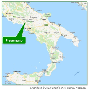 Presenzano Map