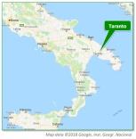 Taranto Location Map