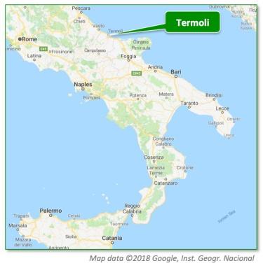 Termoli Map